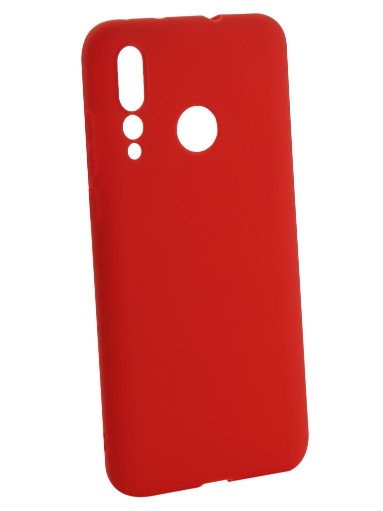 Аксессуар Чехол Zibelino для Huawei Nova 4 2018 Soft Matte Red ZSM-HUA-NOVA4-RED