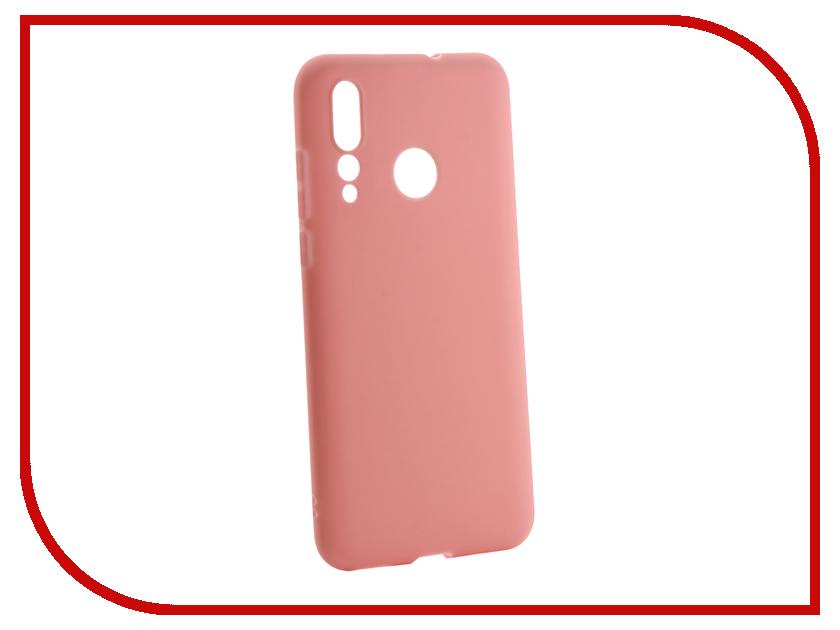 Купить Аксессуар Чехол для Huawei Nova 4 2018 Zibelino Soft Matte Pink ZSM-HUA-NOVA4-PNK