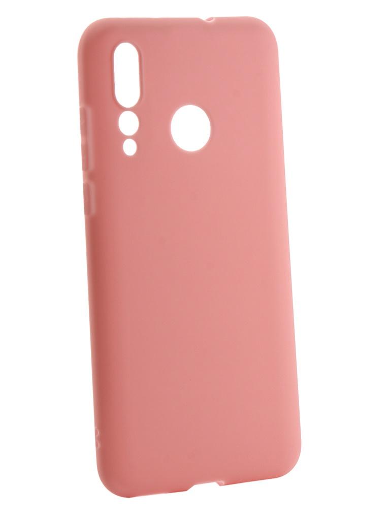 Аксессуар Чехол Zibelino для Huawei Nova 4 2018 Soft Matte Pink ZSM-HUA-NOVA4-PNK аксессуар чехол zibelino для huawei p smart 2019 soft matte pink zsm hua psm 2019 pnk