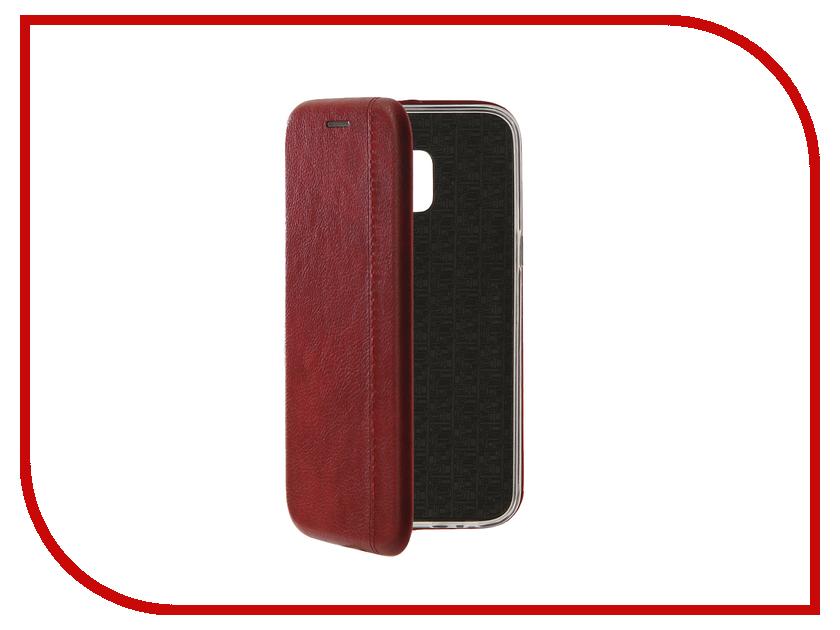 Аксессуар Чехол для Samsung Galaxy J2 Core J260F 2018 Zibelino Book Red ZB-SAM-J260-RED аксессуар чехол для samsung galaxy j2 prime g532f gecko book red g book samj2pr red