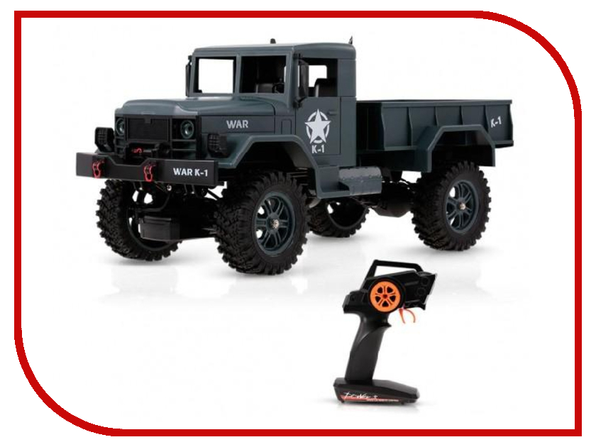 Игрушка WLToys Army Truck 4WD 1/12 WLT-124301