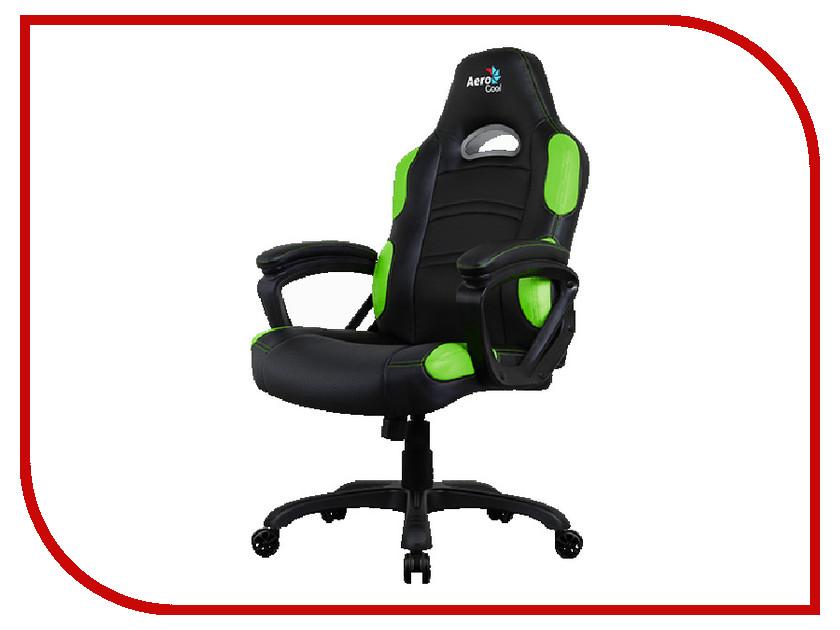 Компьютерное кресло AeroCool AC80C AIR-BG Black-Green