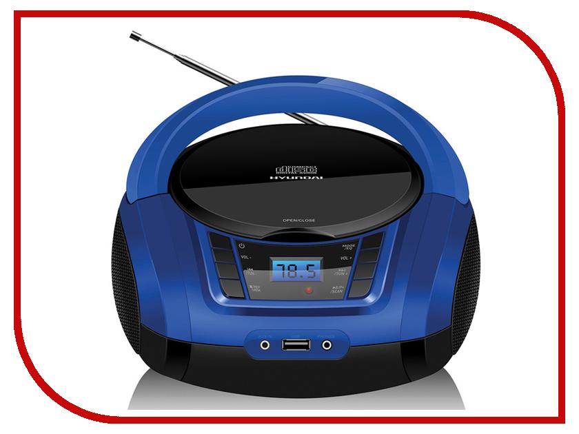 Магнитола Hyundai H-PCD340 Black-Blue hyundai h ccr8189m black
