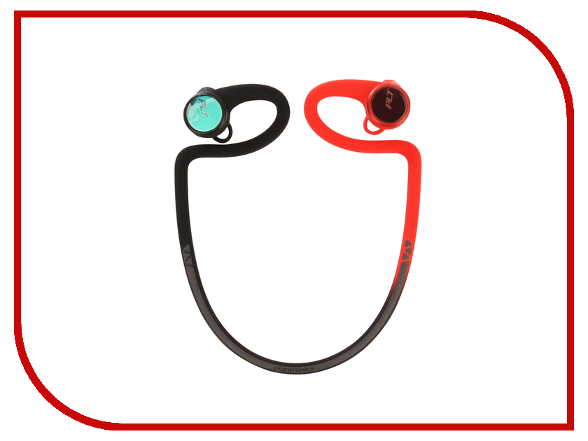 цена на Plantronics BackBeat Fit 2100 BT3.0 Black-Red 212203-99