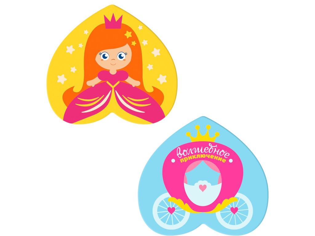 Коврик в ванную на присосках Крошка Я Принцесса Набор 2шт 3253266