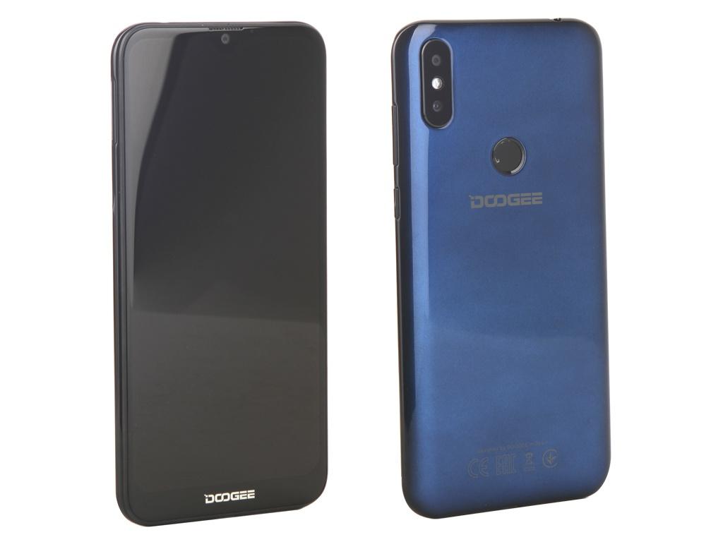 Сотовый телефон Doogee Y8 Plus Midnight Blue сотовый телефон asus zenfone 5 ze620kl 4 64gb midnight blue
