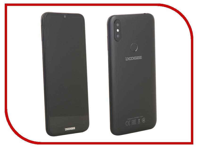 Сотовый телефон DOOGEE Y8 Plus Midnight Black сотовый телефон doogee x55 black