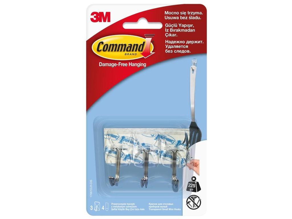 Крючки Command (3 шт) 107067CLR 272354