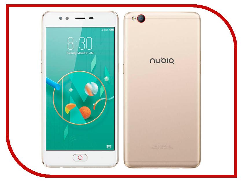 Сотовый телефон ZTE Nubia M2 Lite 64Gb RAM 3Gb Gold испаритель eleaf ijust 3 mesh dual coil hw m 0 2ohm