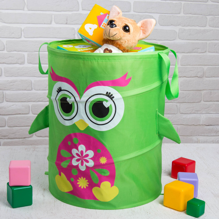 Корзина для игрушек Школа талантов Совушка 2859907
