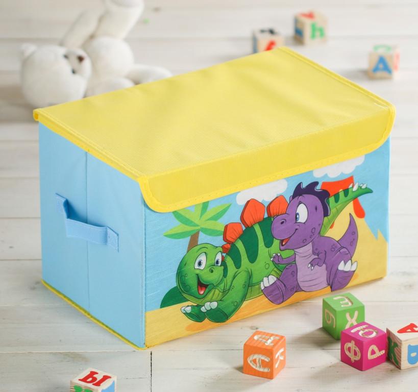 Короб для игрушек Школа талантов Динозавры 3818376