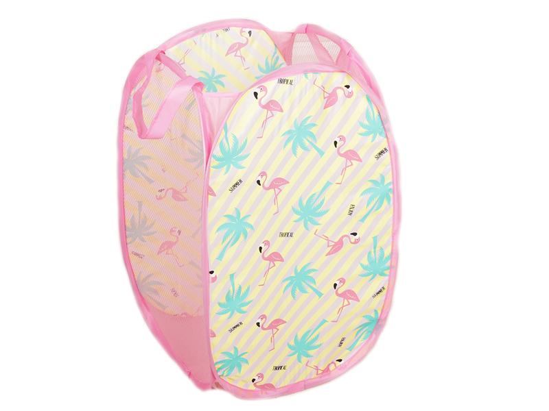 Корзина для игрушек СИМА-ЛЕНД Розовый фламинго 2537444