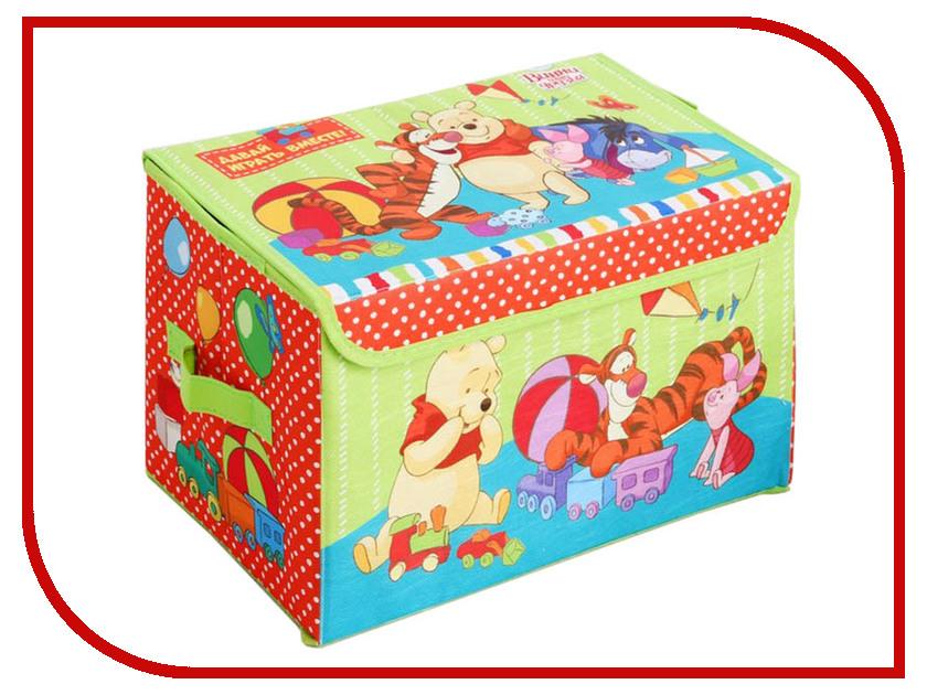 Коробка для игрушек Disney Медвежонок Винни и его друзья Давай играть! 3889216 ящики для игрушек disney короб для игрушек микки и его друзья