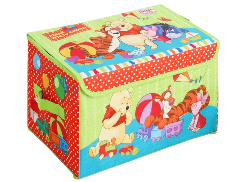 Коробка для игрушек Disney Медвежонок Винни и его друзья Давай играть! 3889216