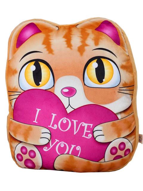 цена на Игрушка СИМА-ЛЕНД Рыжий котик с сердцем 3251450