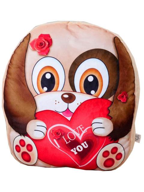 Игрушка СИМА-ЛЕНД Собачка с сердцем 3251451