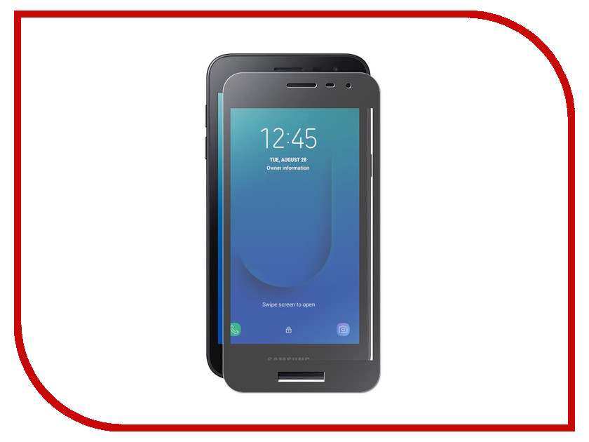 Аксессуар Защитное стекло для Samsung Galaxy J2 Core Svekla Full Screen Black ZS-SVSGJ2CORE-FSBL аксессуар защитное стекло для lg k10 2017 m250 svekla full screen black zs svlgm250 fsbl