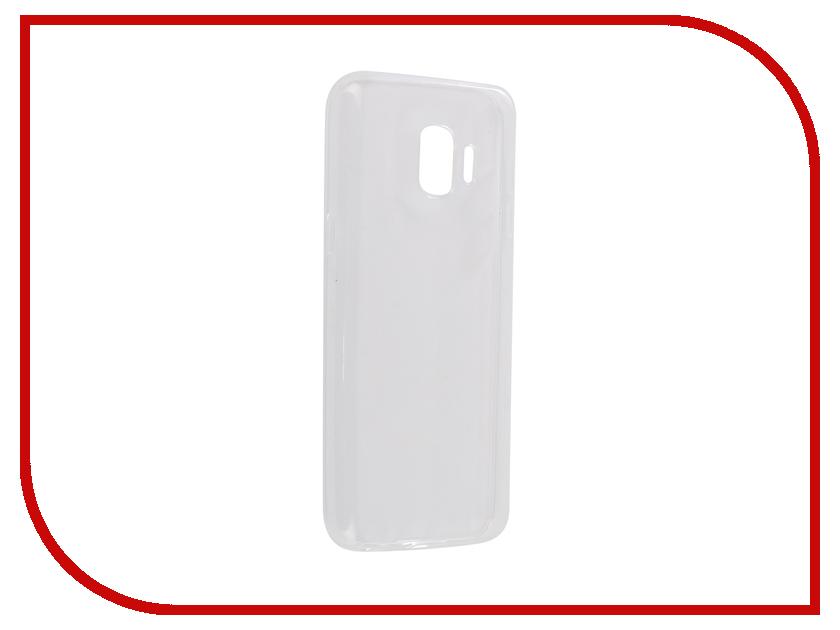 Аксессуар Чехол для Samsung Galaxy J2 Core Svekla Silicone Transparent SV-SGJ2CORE-WH аксессуар чехол для samsung galaxy j7 j730 2017 gecko transparent glossy white s g sgj7 2017 wh