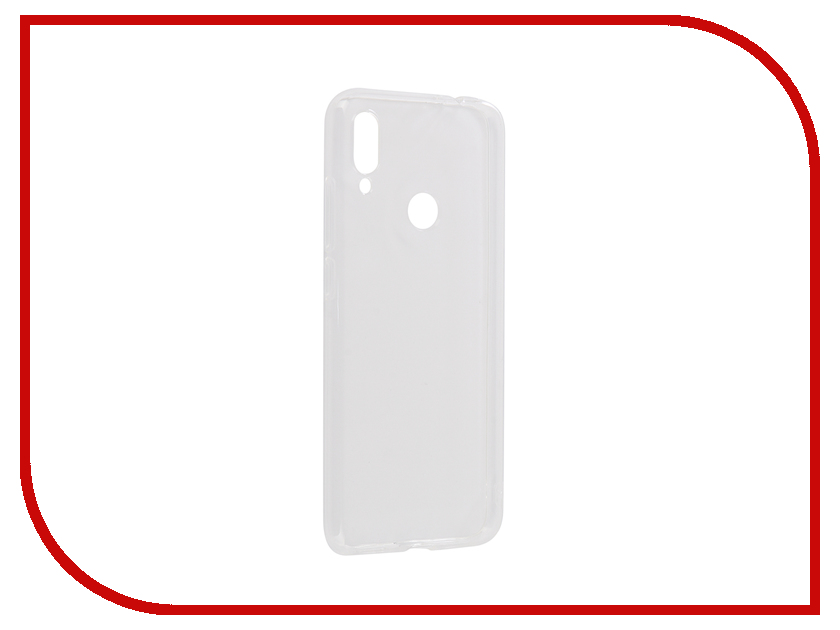 Аксессуар Чехол для Xiaomi Redmi Note 7 Svekla Silicone Transparent SV-XIRN7-WH аксессуар чехол для xiaomi redmi 6 pro gecko transparent white s g xir6pro wh