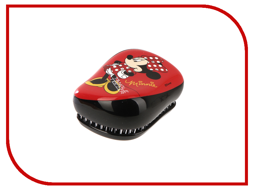 Расческа Tangle Teezer Compact Styler Minnie Mouse Rosy Red 2120 simba пупс minnie mouse