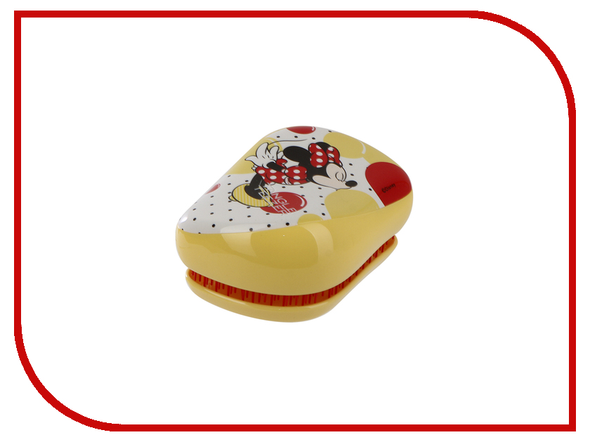Расческа Tangle Teezer Compact Styler Minnie Mouse Sunshine Yellow 2123 simba пупс minnie mouse