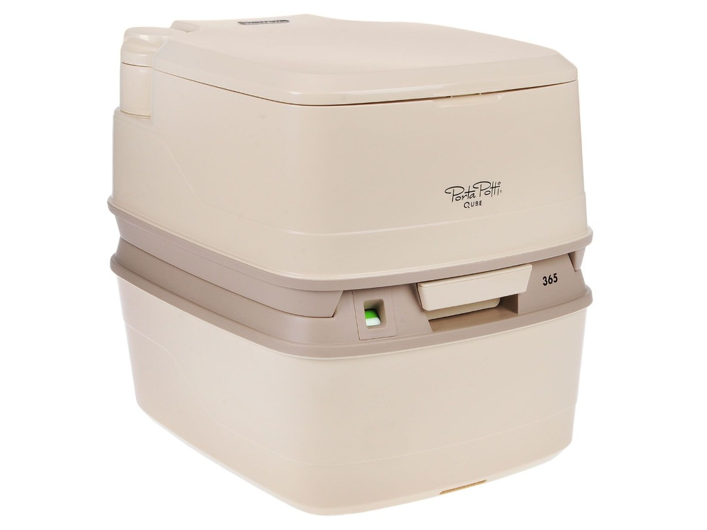 Биотуалет Thetford Porta Potti Qube 365 Biege биотуалет porta potti 365 с индикатором белый