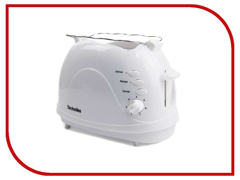 Тостер Technika TK 3600 White тостер technika 306tk а