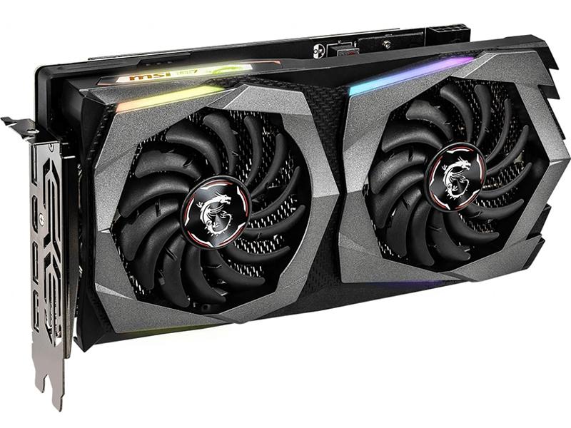 Видеокарта MSI GeForce RTX 2060 1830Mhz PCI-E 3.0 6144Mb 14000Mhz 192 bit HDMI 3xDP GAMING Z 6G
