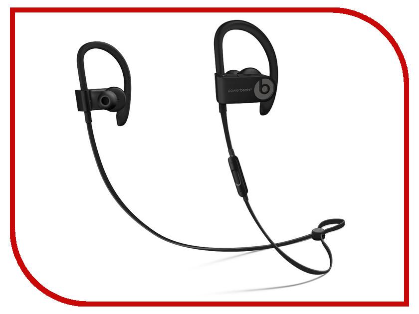 Beats Powerbeats3 Wireless Black ML8V2EE/A earphones beats powerbeats3 wireless bluetooth earphone wireless headphone with microphone headphone for phone in ear sport