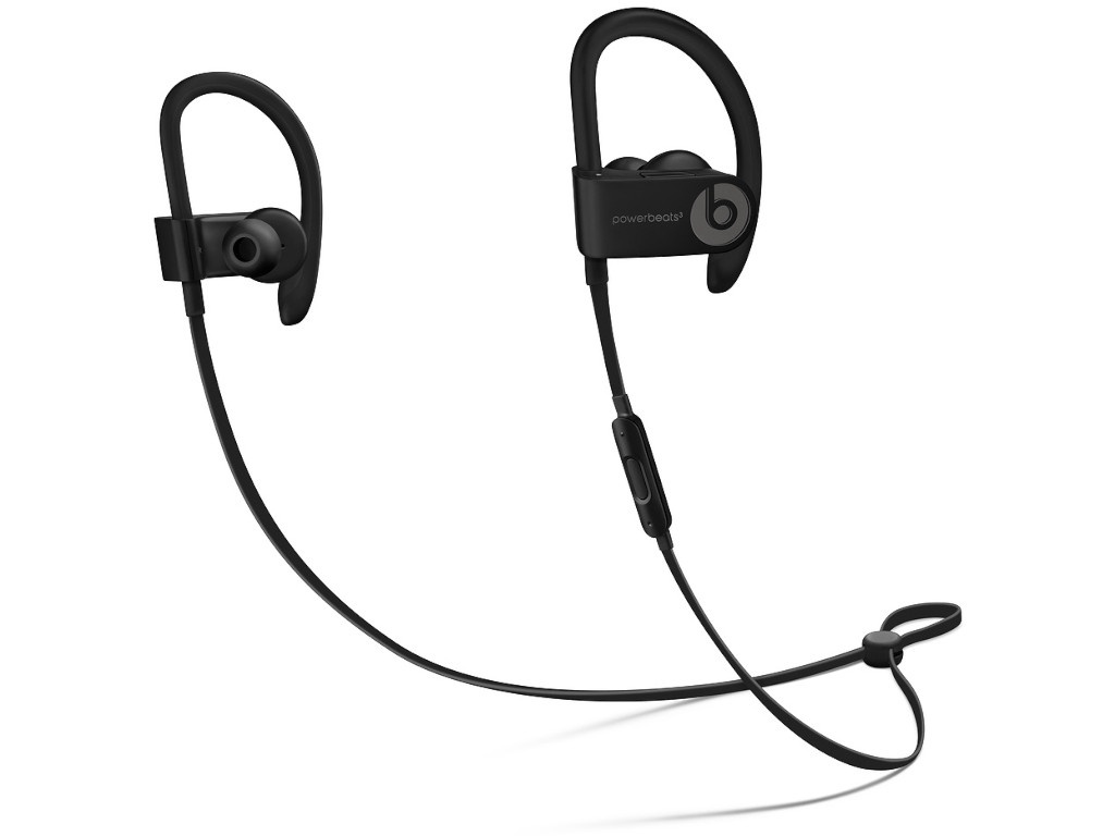 Beats Powerbeats3 Wireless Black ML8V2EE/A beats tour2 titanium