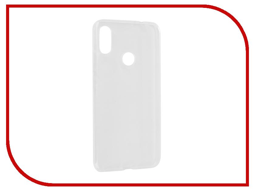 Аксессуар Чехол для Xiaomi Redmi Note 7 Zibelino Ultra Thin Case Transparent ZUTC-XMI-RDM-NOT7-WHT аксессуар чехол для xiaomi mi5x mi a1 zibelino ultra thin case white zutc xia mi5x wht
