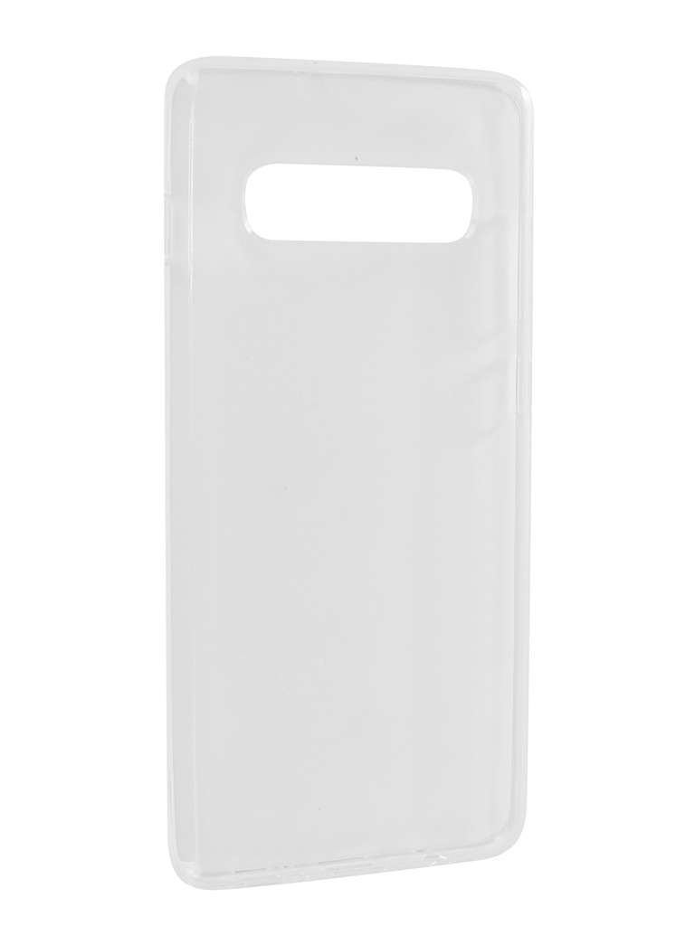 Аксессуар Чехол Zibelino для Samsung Galaxy S10 Plus 2019 Ultra Thin Case Transparent ZUTC-SAM-S10-PL-WH