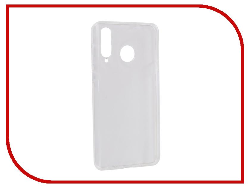 Аксессуар Чехол для Samsung Galaxy A8s 2019 Zibelino Ultra Thin Case Transparent ZUTC-SAM-A8S-WH аксессуар чехол для samsung galaxy j7 j730 2017 gecko transparent glossy white s g sgj7 2017 wh
