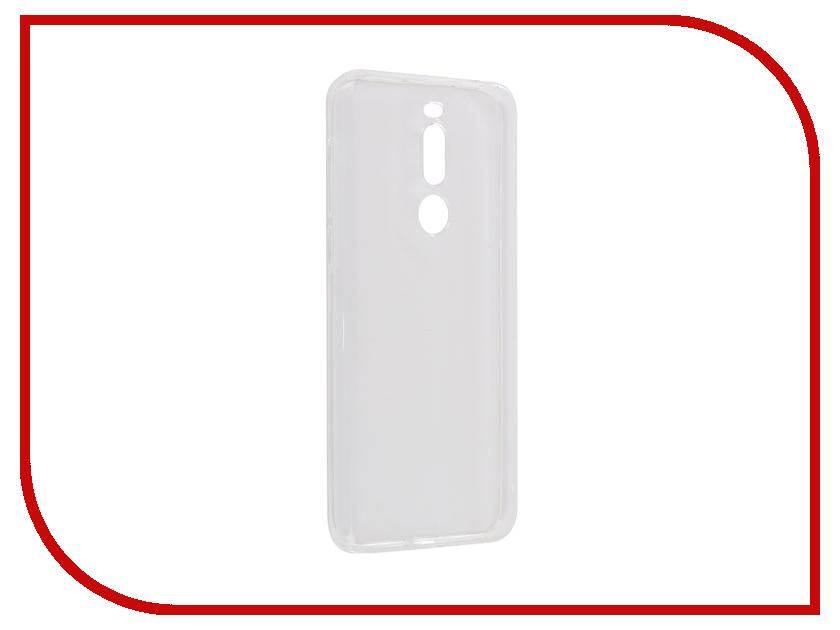 Аксессуар Чехол для Meizu X8 2018 Zibelino Ultra Thin Case Transparent ZUTC-MZU-X8-WHT бра n light 570 4n wht