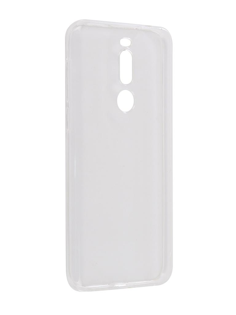 Чехол Zibelino для Meizu X8 2018 Ultra Thin Case Transparent ZUTC-MZU-X8-WHT аксессуар чехол для nokia 7 1 2018 zibelino ultra thin case transparent zutc nok 7 1 wht