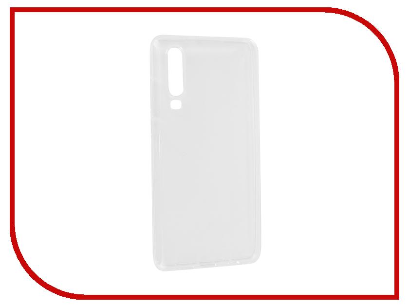 Аксессуар Чехол для Huawei P30 2019 Zibelino Ultra Thin Case Transparent ZUTC-HUA-P30-WHT бра n light 570 4n wht
