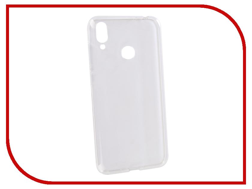 Аксессуар Чехол для ASUS Zenfone Max M2 ZB633KL 2018 Zibelino Ultra Thin Case Transparent ZUTC-ASU-ZB633KL-WH moskii brand ultra thin pc protective case cover for htc desire 820