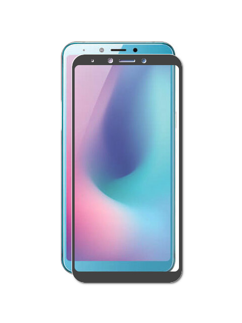 Защитное стекло для Samsung Galaxy A6S 2019 G6200 Zibelino TG 5D Black ZTG-5D-SAM-G6200-BLK