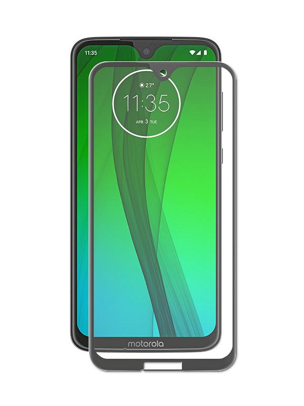 Аксессуар Защитное стекло ZibelinoTG для Motorola Moto G7 5D Black ZTG-5D-MOT-G7-BLK