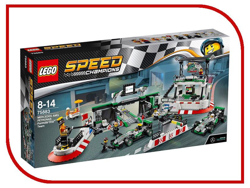 Конструктор Lego Speed Champions Mercedes AMG Petronas Formula One Team 75883 model building kits compatible with lego city formula car 668 3d blocks educational model