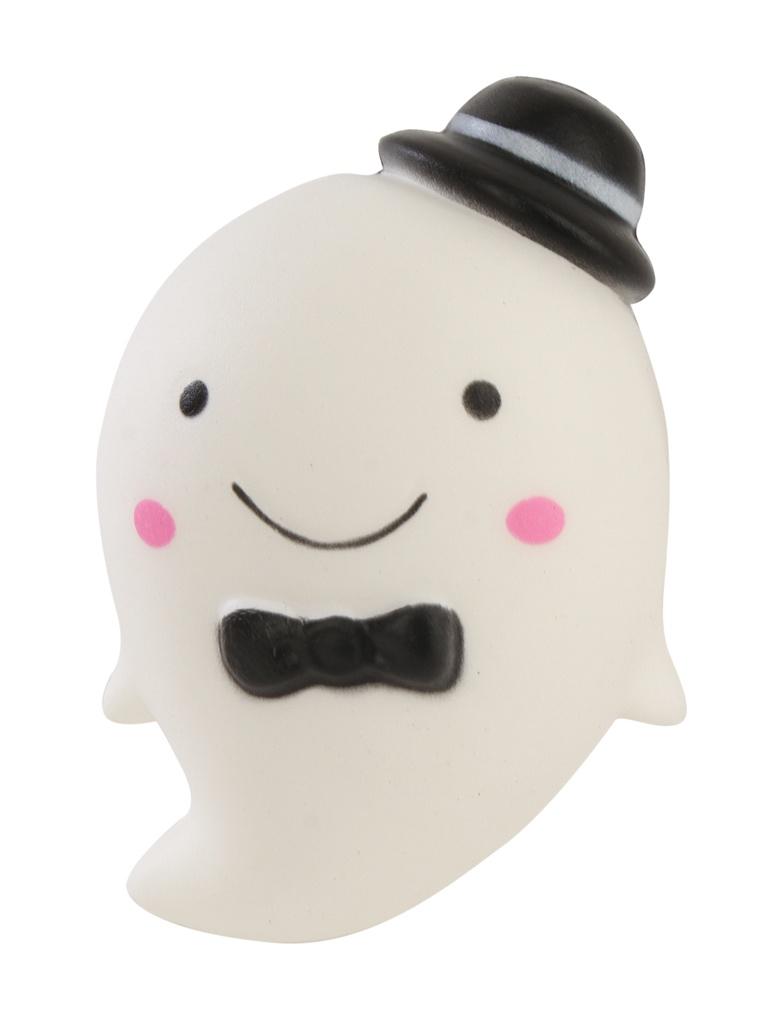 Игрушка антистресс Squishy Кит в шляпе White ZSQ-23