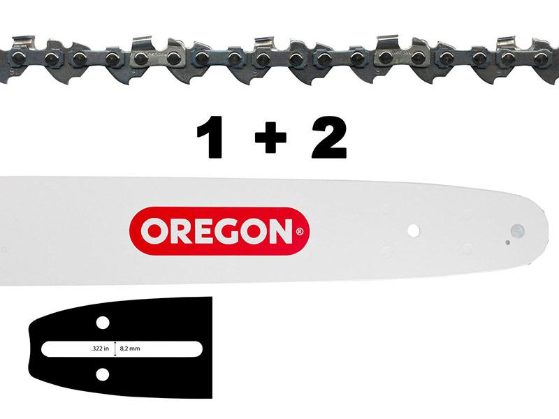 Цепь Oregon 1х 140SDEA041 + 2X 91P052E 543437
