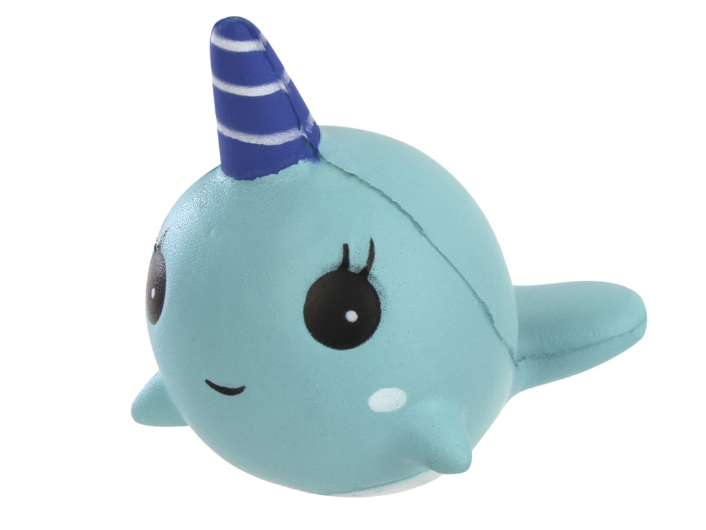Игрушка антистресс Squishy Дельфин Blue ZSQ-18