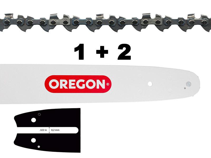 Цепь Oregon 1X 160SDEA074 + 2X 91P055E 543484