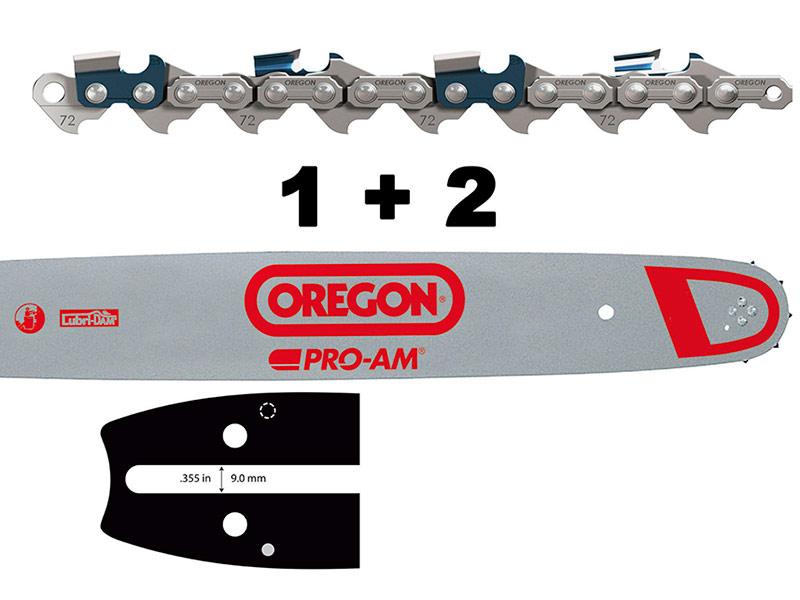 Цепь Oregon 1X 188SFHD009 + 73DPX068E 556288
