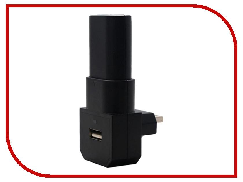 Зарядная станция OIVO Charging Dock USB + Battery 400mAh Black IV-X1006 для Xbox One usb battery charging dock 1800mah battery eu plug adapter for samsung i9100 galaxy s2