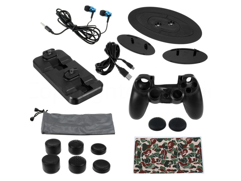 Набор OIVO 15in1 Super Kit IV-P4T01 для Sony Playstation 4 Slim/Pro