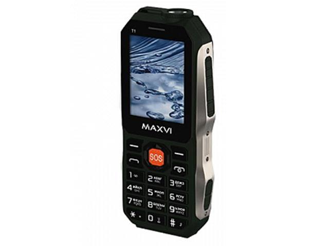 Сотовый телефон MAXVI T1 Green телефон