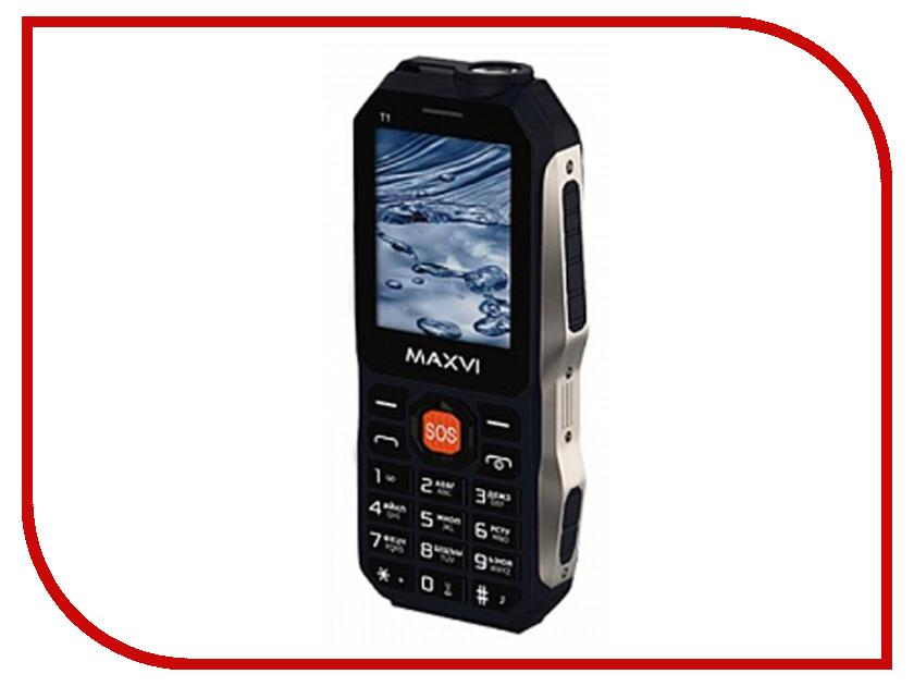 Сотовый телефон MAXVI T1 Blue сотовый телефон maxvi t5 dark blue