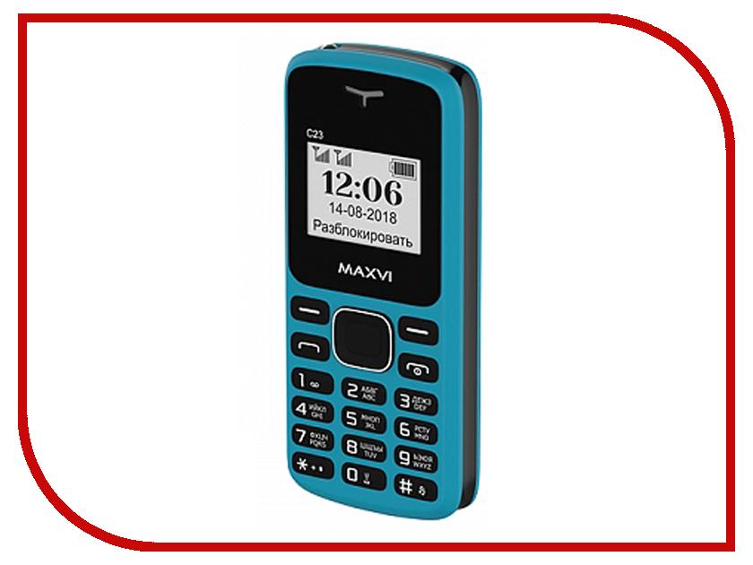 Сотовый телефон MAXVI C23 Blue-Black сотовый телефон highscreen easy xl blue